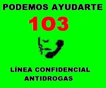 Línea Confidencial Antidrogas