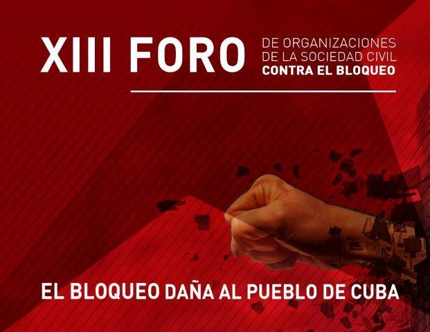 XIII FORO BLOQUEO - SOCIEDAD CIVIL 2016a