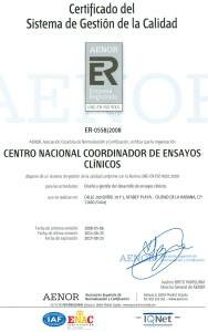 Certificado de AENOR Internacional