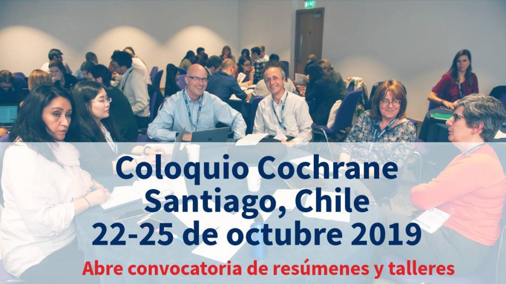 Coloquio Cochrane Santiago, Chile octubre 2019