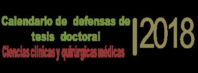 Calendario de tesis doctoral 2018 406x151