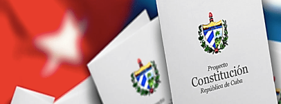 Reforma constitucional -Cuba 406x151