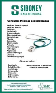 Consultas Médicas Especializadas