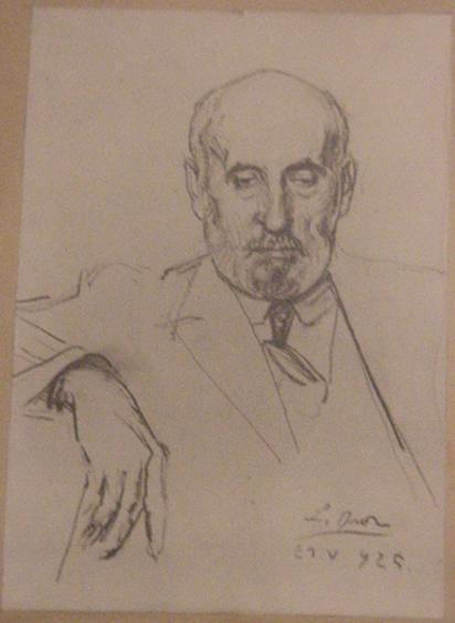 """Dibujo de Cajal que aparece en el artículo """"Redacción de un trabajo científico"""""""