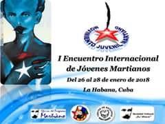 I Encuentro internacional de jóvenes martianos