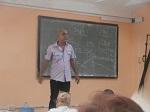 Profesor Raúl Quevedo imparte conferencia sobre la aplicación del Título III de la Ley Helms-Burton