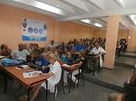 Trabajadores y profesores debaten sobre la reacreditación de la Carrera de Medicina de Excelencia.