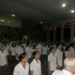 Graduación en la defensa en la Facultad de Ciencias Médicas Manuel Fajardo