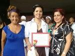 Graduada integral de la Facultad Manuel Fajardo