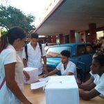 Elecciones de la FEU en la Facultad Manuel Fajardo