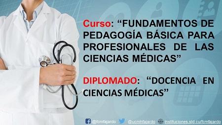 Convocatoria a diplomado y curso dirigido a profesionales egresados de la salud