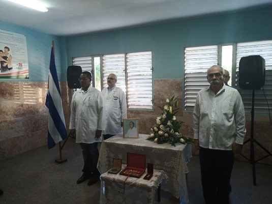 Homenaje Póstumo a Dr Cosme Ordoñez Carceller