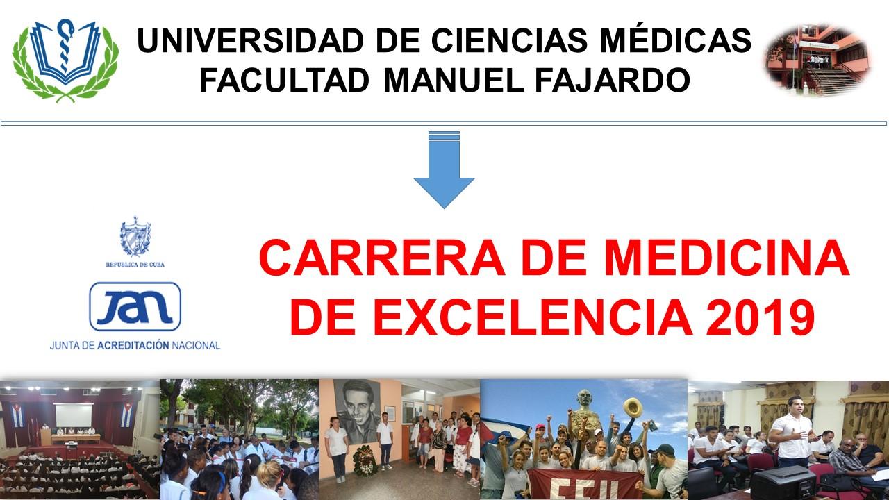 Carrera de Medicina acreditada de excelencia