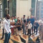 Visita al Capitolio Nacional de Cuba en el curso Rutas y Andares tras las maravilla de la Ciudad
