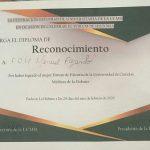 Primer lugar en Fórum de Historia de la Universidad de Ciencias Médicas de La Habana