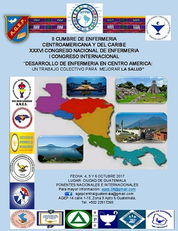 II Cumbre de Enfermería Centro Americana y del Caribe