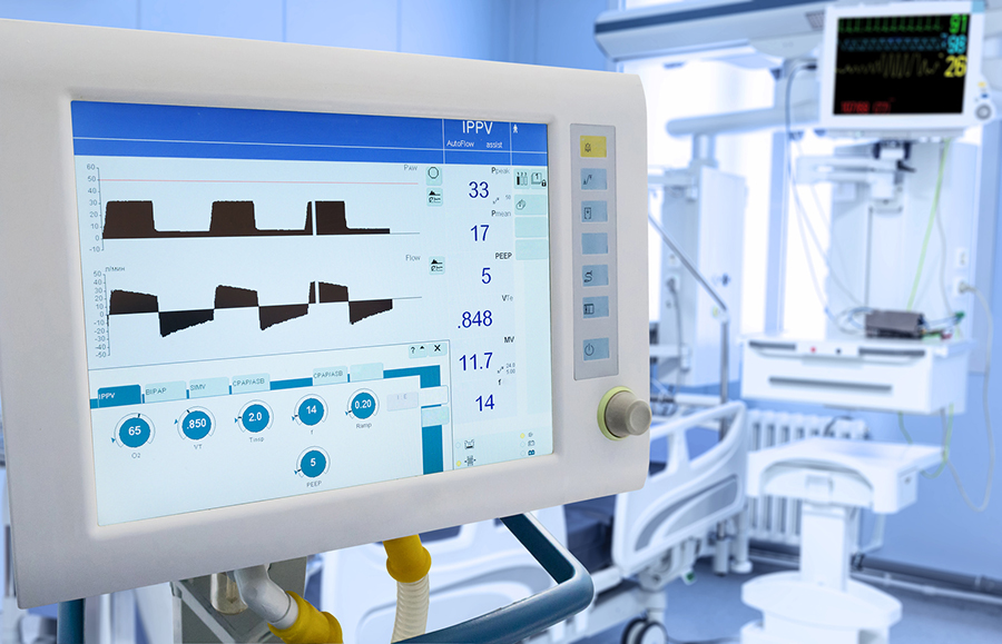 Mechanical Lung ventilation in ICU