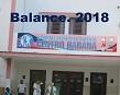 Balance HPCH. 2018