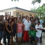 Donantes y trabajadores del IHI, en el homenaje a los donantes