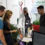 Stand del INHEM en la Feria Expositiva Salud para Todos 2018