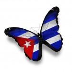 mariposa cuba bandera