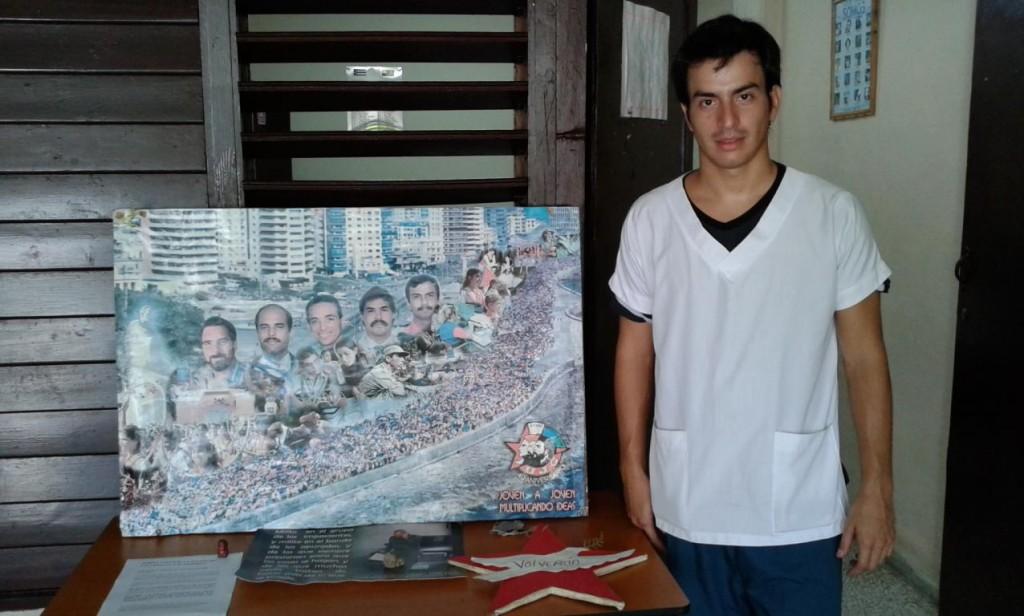 Isaías Abel Gamarra, 5to año de medicina. Universidad de Ciencias Medicas Villa Clara.