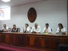 Entrega Oficial de Diplomantes de la UCMVC a la Dirección y Sindicato de la Dirección Provincial de Salud en Villa Clara