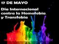 No a la Homofobia y a la Transfobia